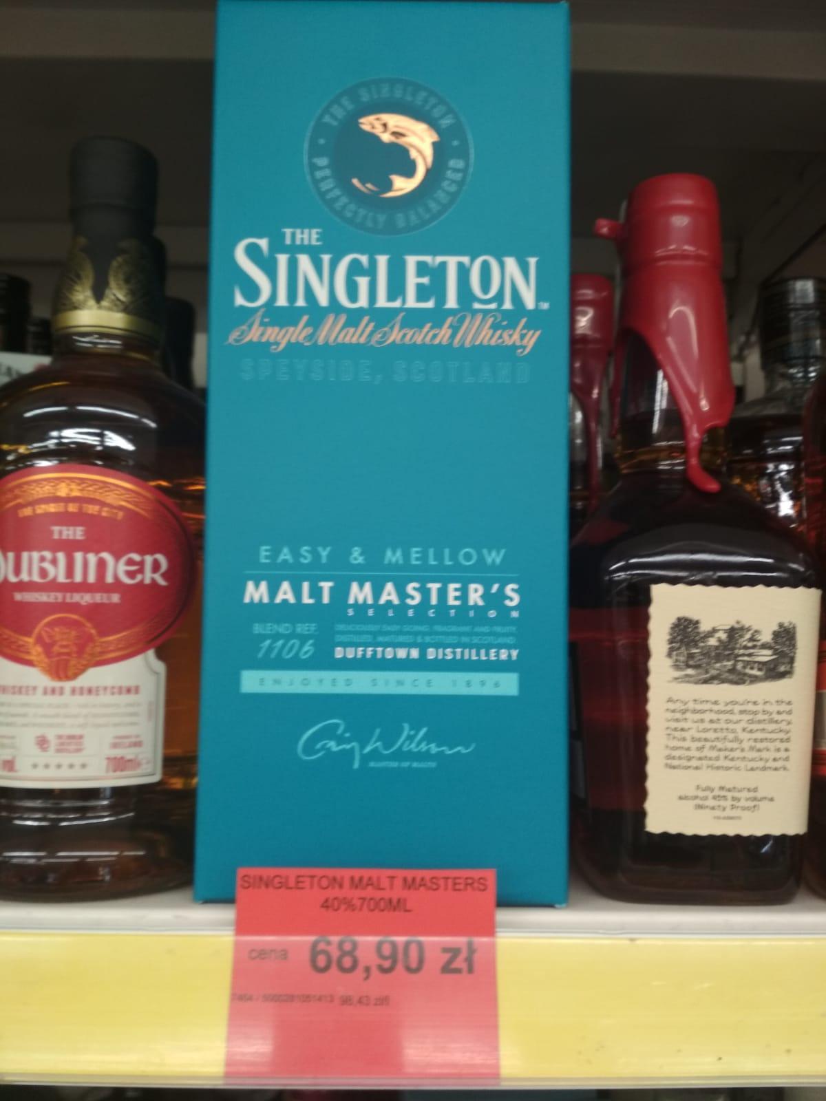 Singleton Malt Master's 0.7