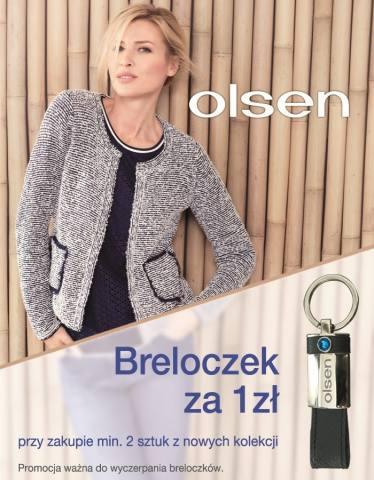 Skórzany breloczek za 1zł przy zakupie dwóch produktów @ Olsen