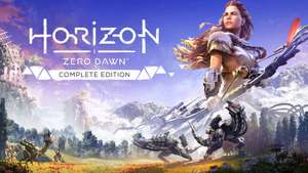 Horizon Zero Dawn Complete Edition PS4 / PS5 za darmo do 14 maja w ramach Playstation Play at Home