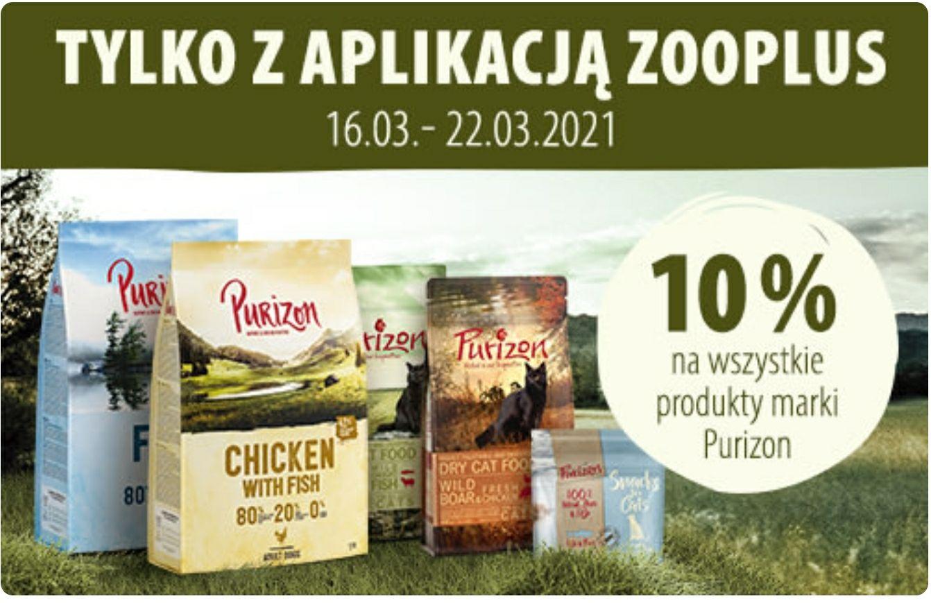 Purizon - 10% rabatu na wszystkie karmy / tylko w aplikacji Zooplus