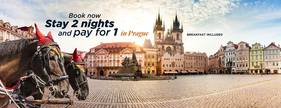 Accorhotels: Praga na walentynki (2=1) ze śniadaniem