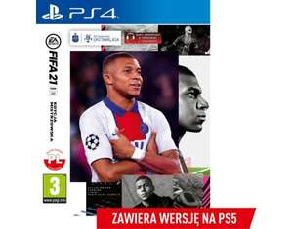 Gra PS4 FIFA 21 Edycja Mistrzowska