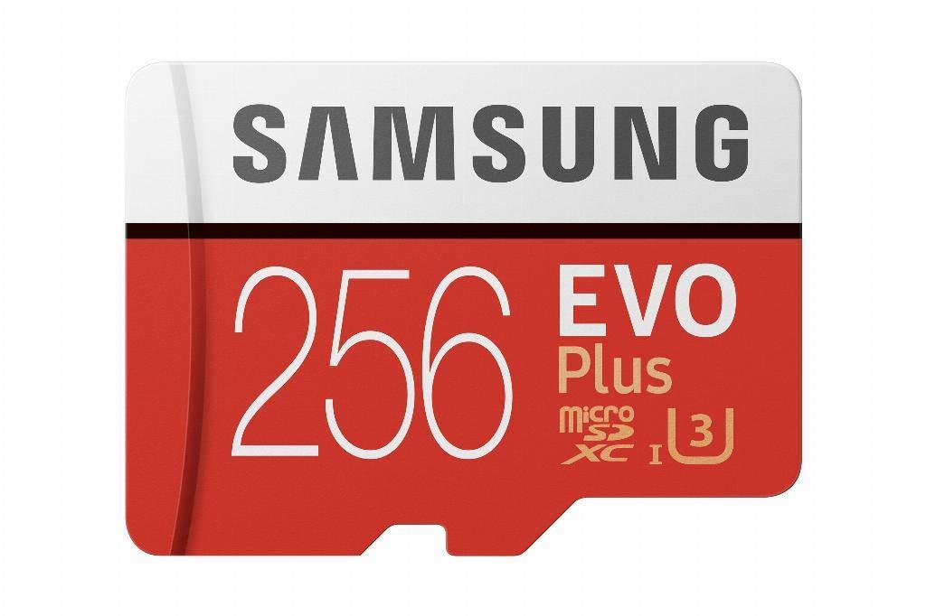 Karta pamięci microSD SAMSUNG EVO Plus 2020 256 GB (U3) + adapter. Do 100 MB/s w odczycie i 90 MB/s w zapisie. Amazon