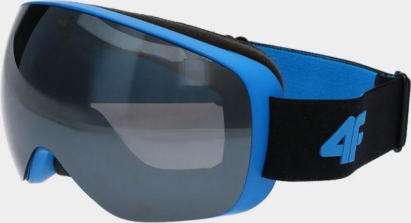 4f Gogle narciarskie GGM060 niebieskie, różowe oraz białe (a także kask 4F KSM004 za 68zł)