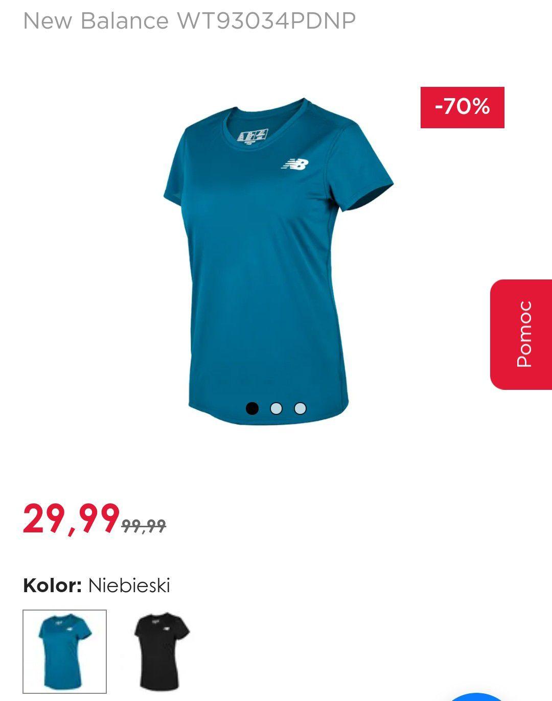 New Balance - damska koszulka do biegania i nie tylko.