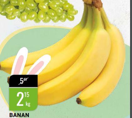 Banany 1kg, w bi1 od 24.marca