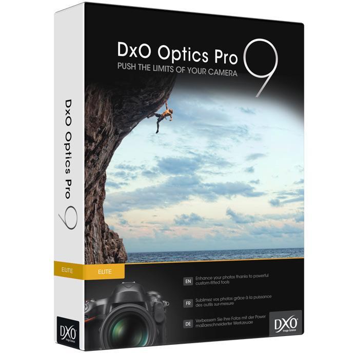 DxO OpticsPro 9 Elite za darmo