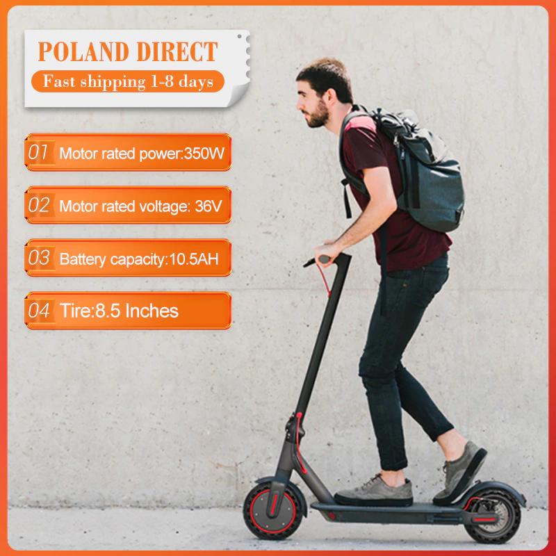 Hulajnoga elektryczna EW6 36V 10.5Ah [Wysyłka z Polski]