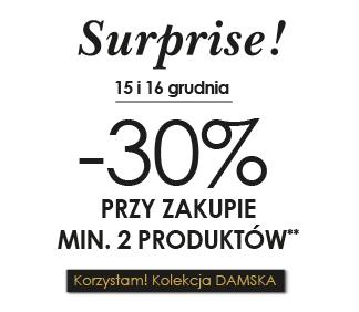 30% rabatu przy zakupie dwóch produktów @ Promod