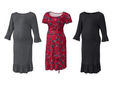 ESMARA® Sukienka ciążowa, Materiał: 95% wiskoza, 5% elastan - 3 rodzaje @Lidl