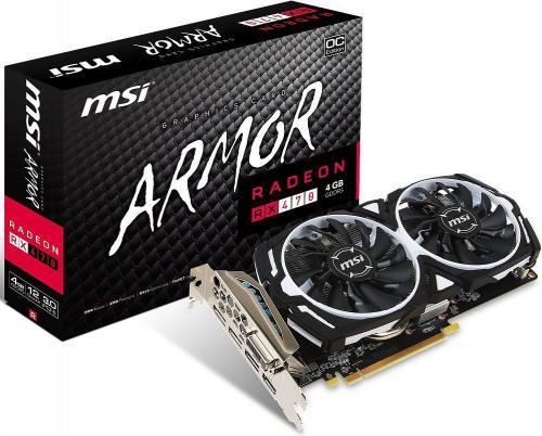 Karta graficzna MSI Radeon RX 470 ARMOR 4G OC
