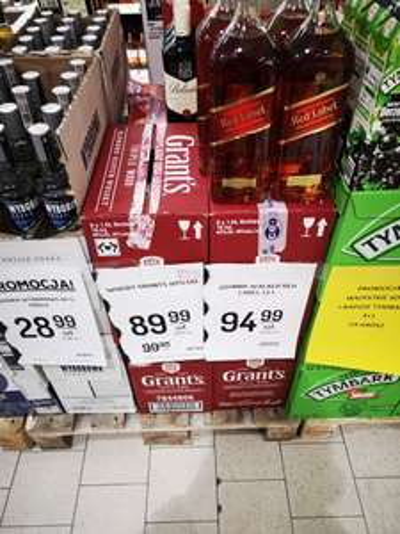 Whisky Grants 1.5l Delikatesy Centrum Sulęcin