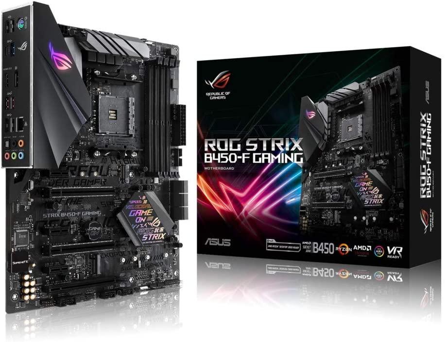 Płyta główna Asus ROG Strix B450-F Gaming II (ATX, AMD Ryzen, NVME M.2, Aura Sync, AI Noise Cancelling)