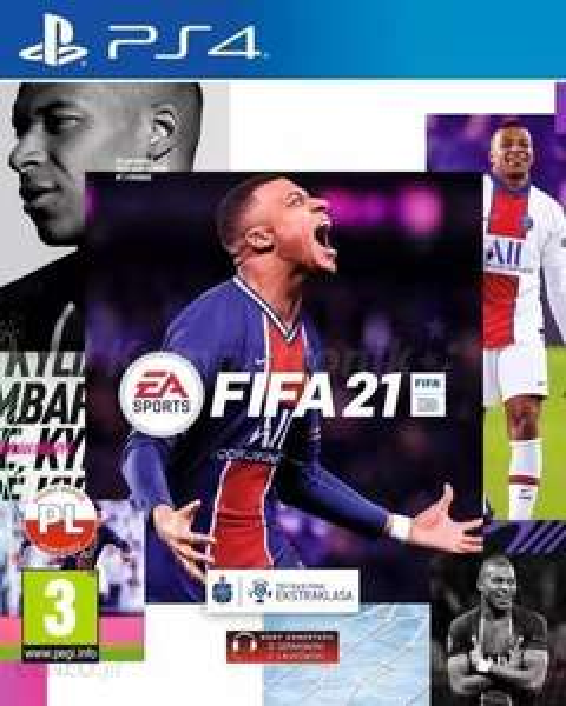 Fifa 21 Standard za 72zl PS4 / PS5 nowa MediaMarkt Outlet Mistrzowska 89.90