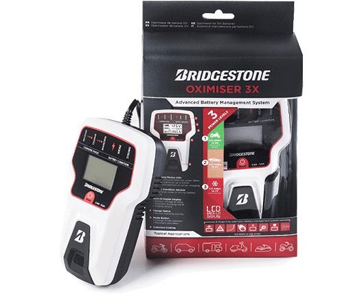 Promocja opon BRIDGESTONE MOTO-PASJA 2021 nagrody za zakup opon (ładowarka akumulatora, zestaw narzędzi, mata serwisowa)