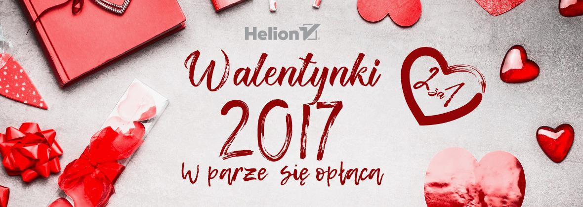 Walentynkowa akcja 2za1 @ Helion, OnePress, Sensus