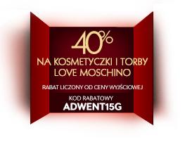 40% rabatu na wybrane produkty Love Moschino @ Riccardo