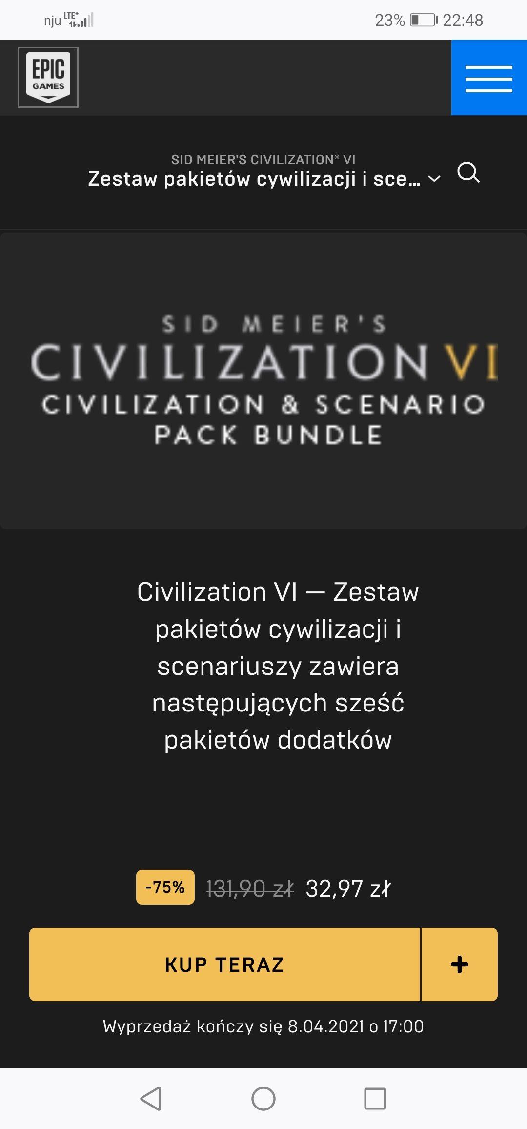 CIVILIZATION VI - Zestaw DLC w tym Polska, wikingowie, Australia, Persja i Macedonia, Nubia, Khmerzy i Indonezja