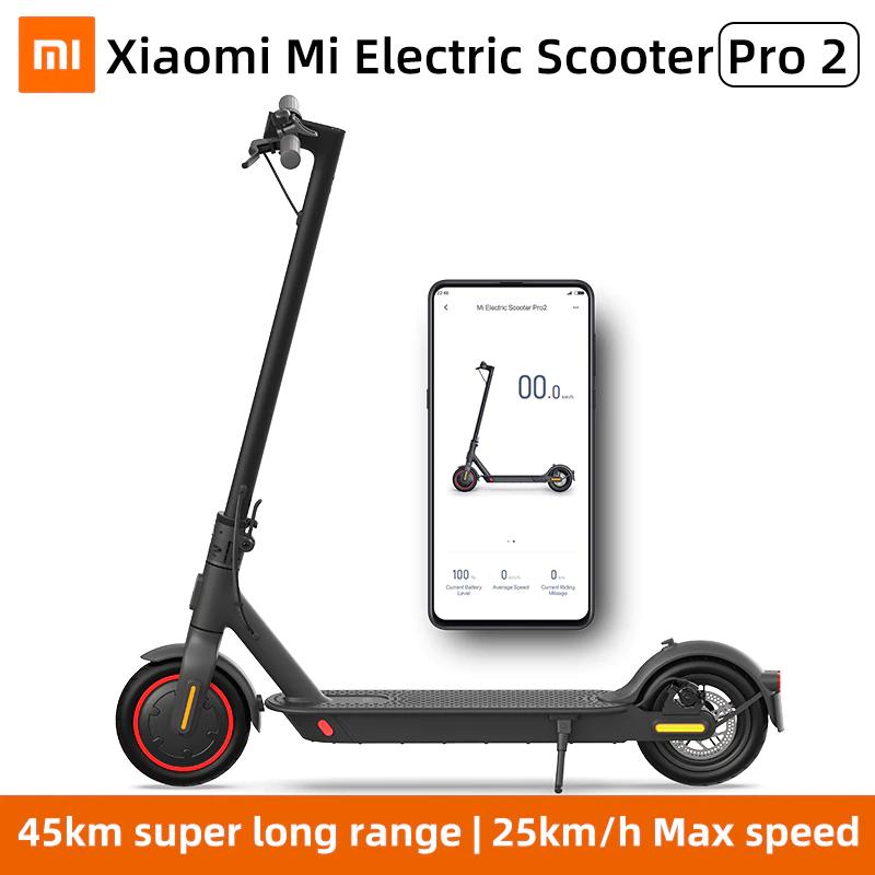 Elektryczna hulajnoga Xiaomi Mi pro 2, silnik 300W, max.prędkość 25km/h, zasięg 45 km @AliExpress