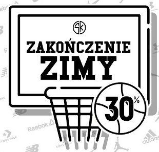 Sklep koszykarza: kod na -30% od wybranych produktów (łączy się z przecenionymi)