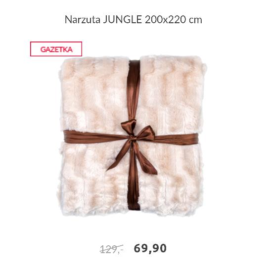 Puchate narzuty na łóżko w świetnych cenach 200x220 cm - 69.90 zł @ Agata Meble