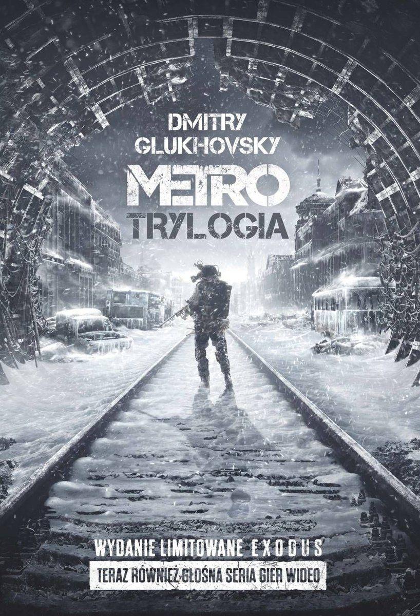 Książki uniwersum Metro, m.in. Metro - trylogia, wydanie specjalne, Exodus. Darmowa dostawa od 70 zł