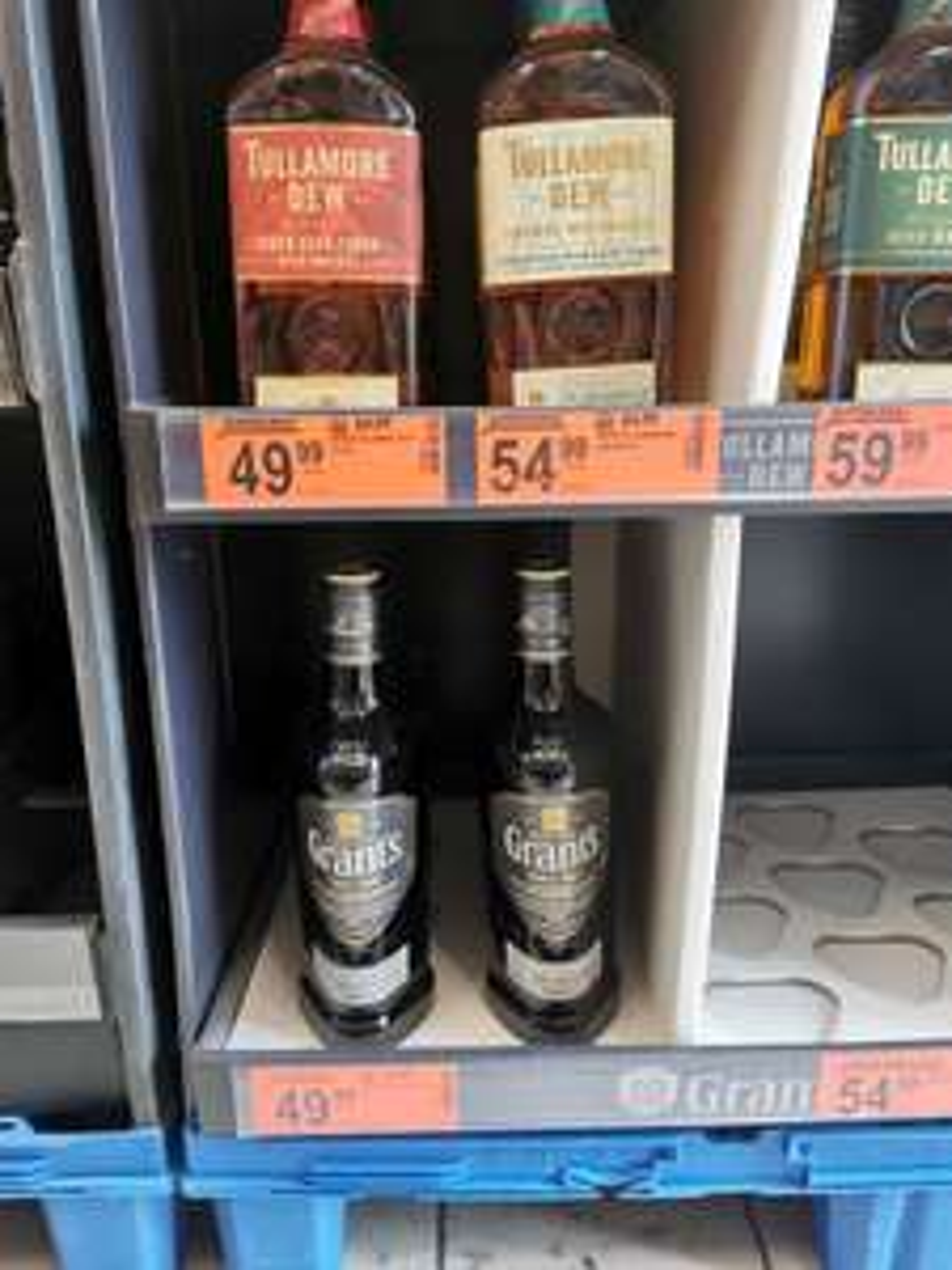 Biedronka : Tullamore Dew Cider & Caribbean Rum Cask Finish 0,7l oraz Grant's Smoky 0,7l