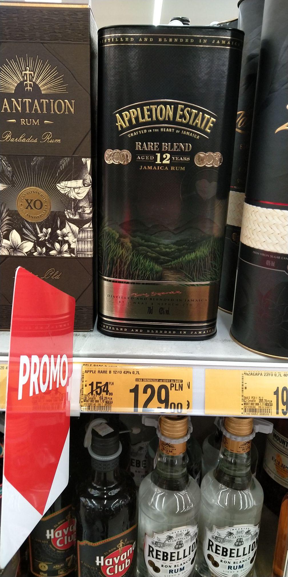 Rum Appleton Estate 12yo 0.7l 43%