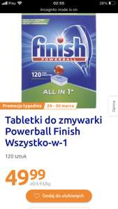 120 tabletek finish all in one action