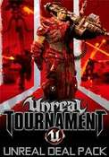 Seria Unreal na Steam PC, Unreal Deal Pack (9,32 zł), Unreal Tournament GOTY (2,44 zł), U2 (3,63 zł), UT3 (5,69 zł), Unreal Gold (2,44 zł)