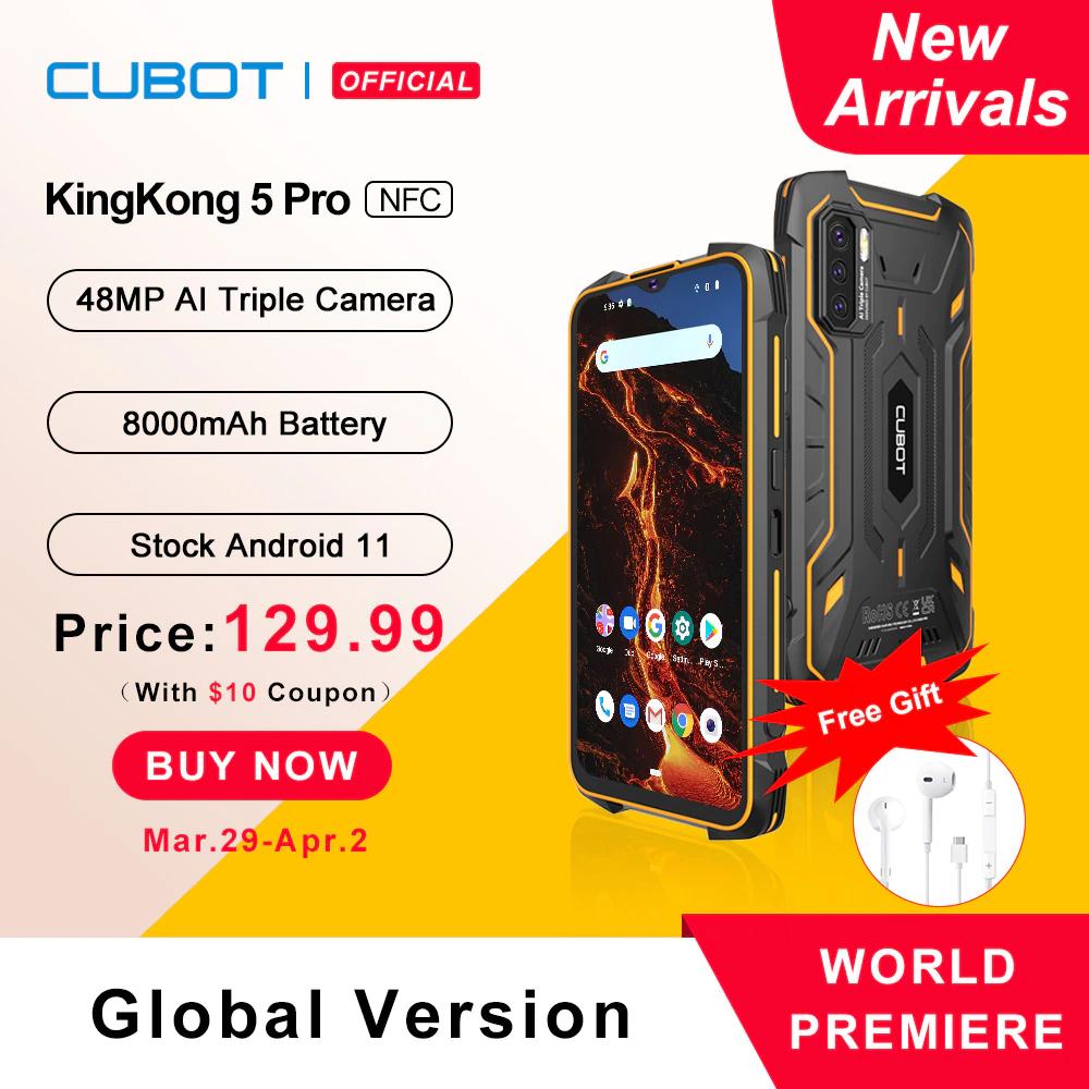 Cubot KingKong 5 Pro NFC wysyłka z Chin
