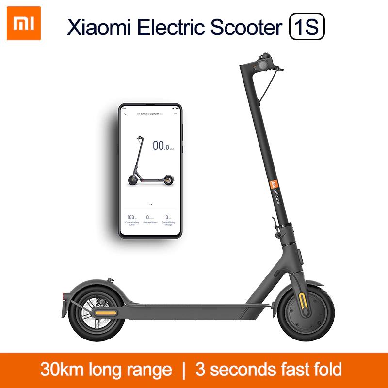 Xiaomi Electric Scooter 1S Hulajnoga Elektryczna Mi - $352 i darmowa dostawa z Polski