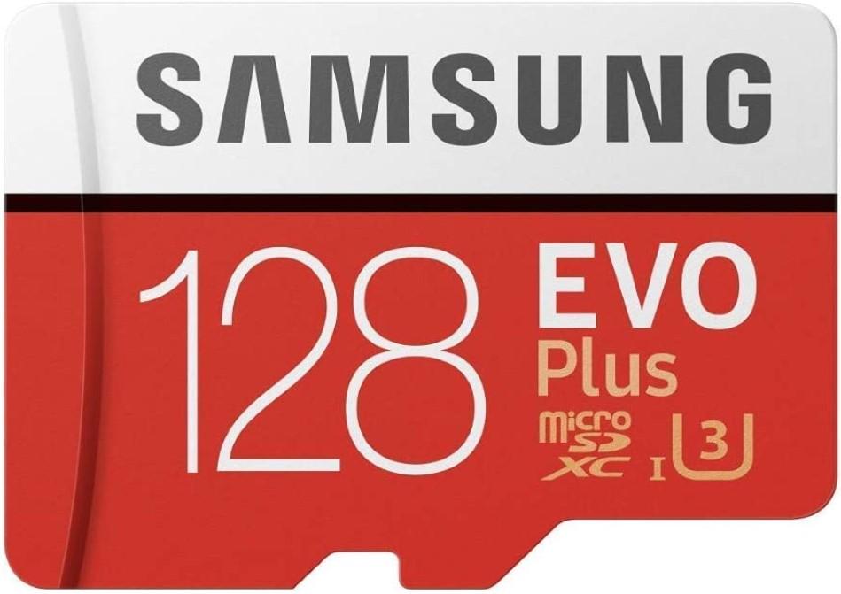 Karta pamięci Samsung microSDXC EVO Plus 128 GB UHS-I U3 w zestawie adapter