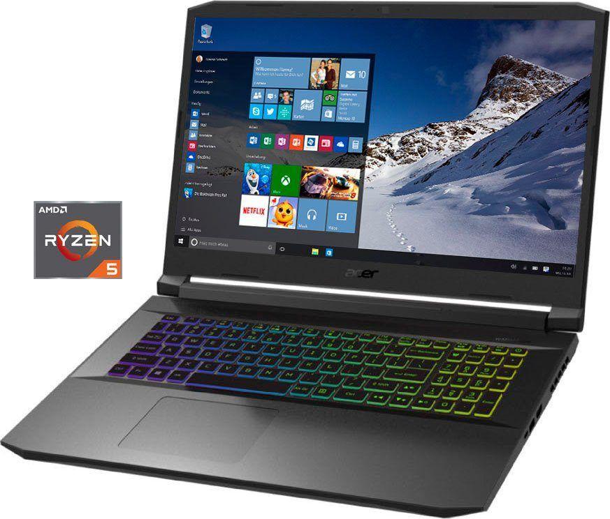Laptop Acer Nitro 5 AN517-41-R77U / 17,3 '' FHD 144 Hz / Ryzen 5600H / RTX3060 / 16 GB RAM / 512 GB SSD
