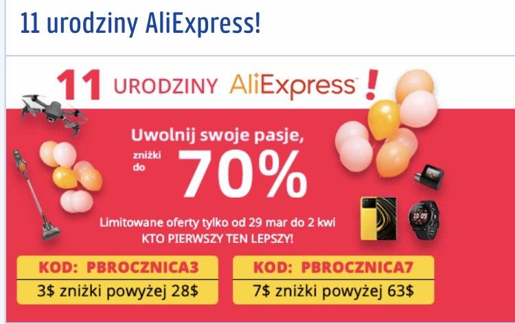 Skromny kodzik do AliExpress od Payback