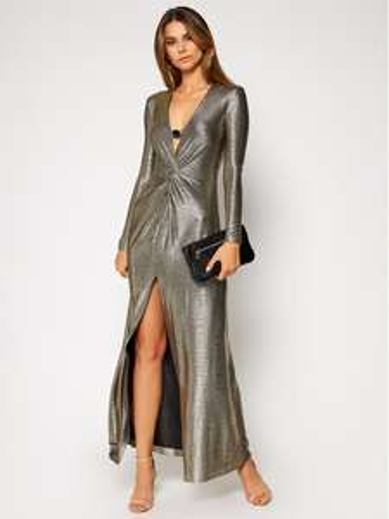 Damska odzież premium - srebrna suknia Pinko - r. XS-L @ZalandoLounge