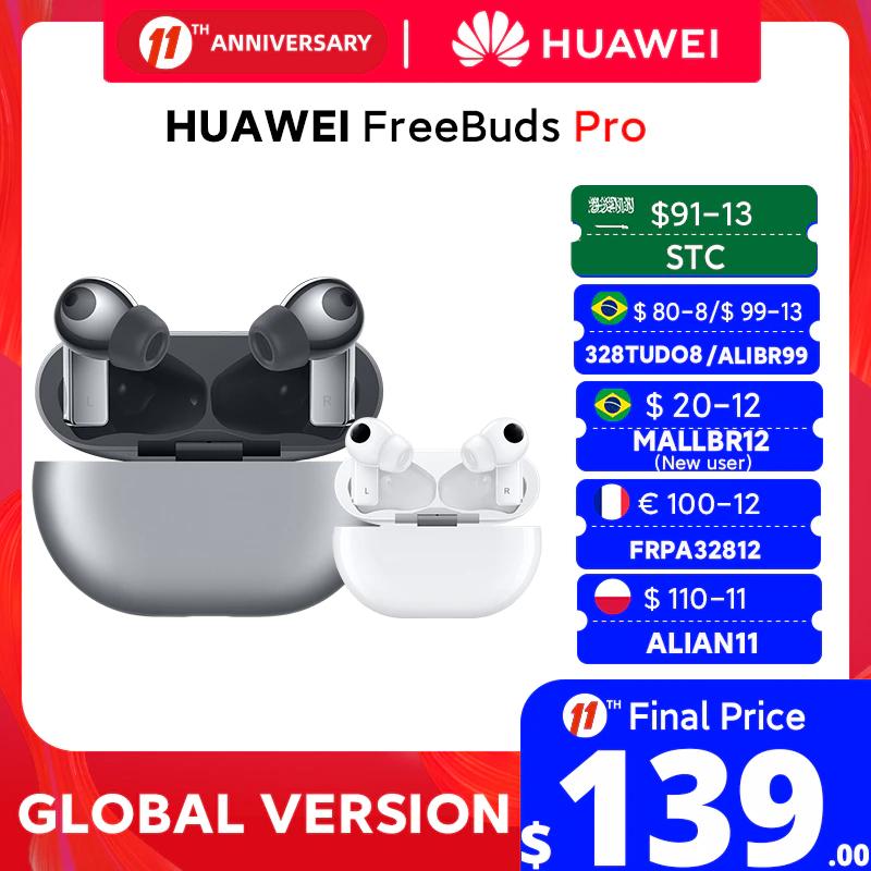 Słuchawki dokanałowe True Wireless HUAWEI Freebuds Pro z ANC (wysyłka z Polski) @AliExpress