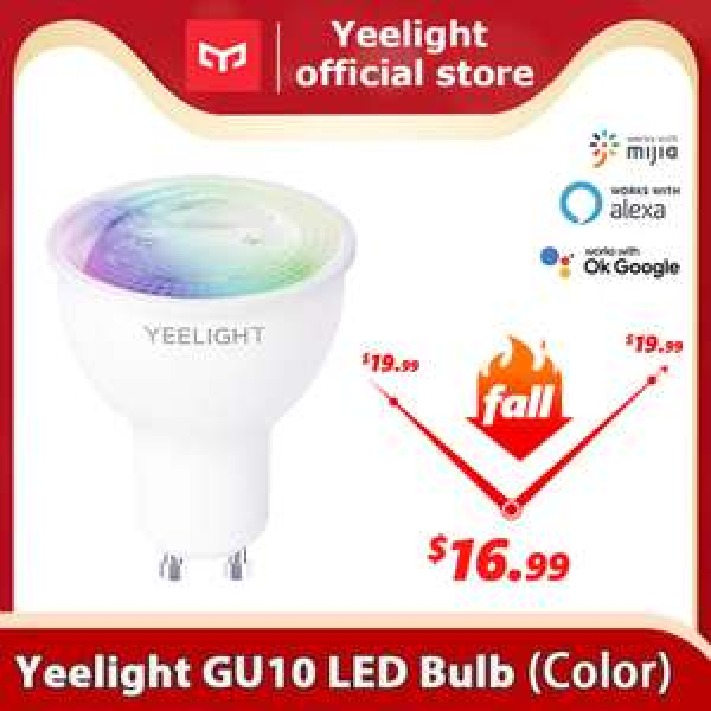 Smart żarówki LED od Yeelight / Aliexpress wysyłka z Chin