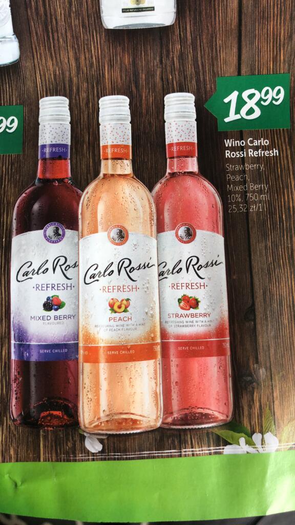 Wino Carlo Rossi Refresh %% / Różne Smaki / Lewiatan