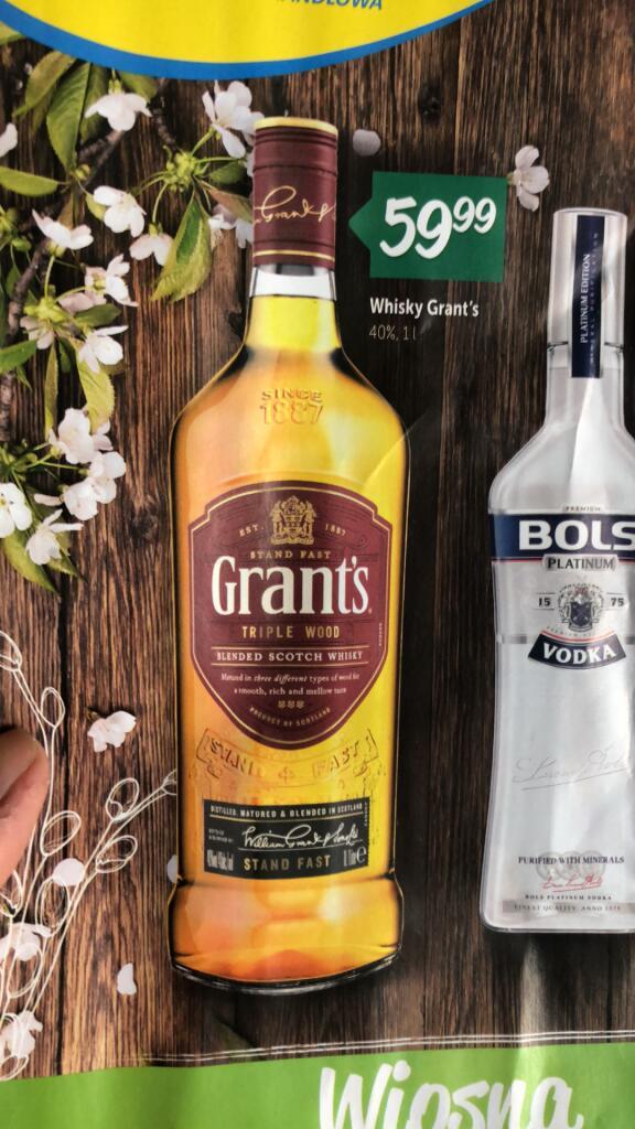 Grant's Whisky 1L %% / Lewiatan / Okazja