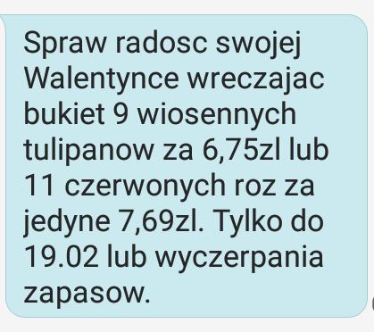 Promocja walentynkowa @Biedronka