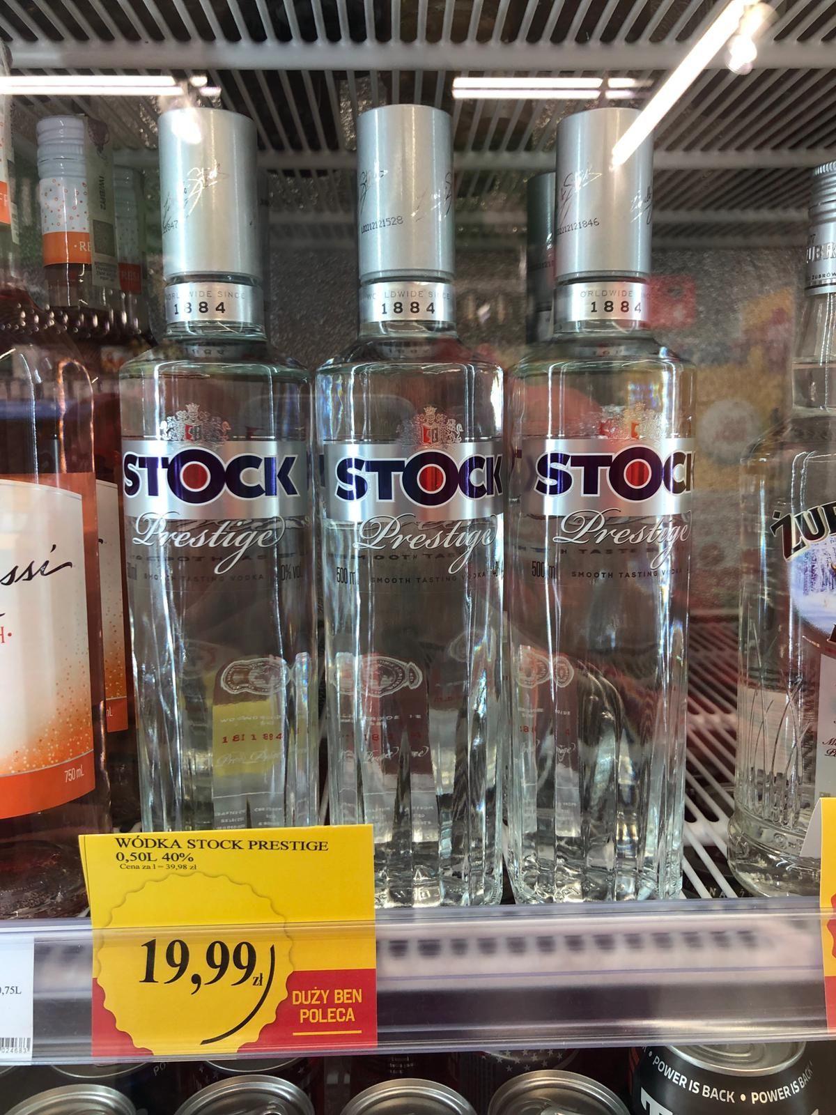 Stock 0,5l Duży Ben Katowice Miła