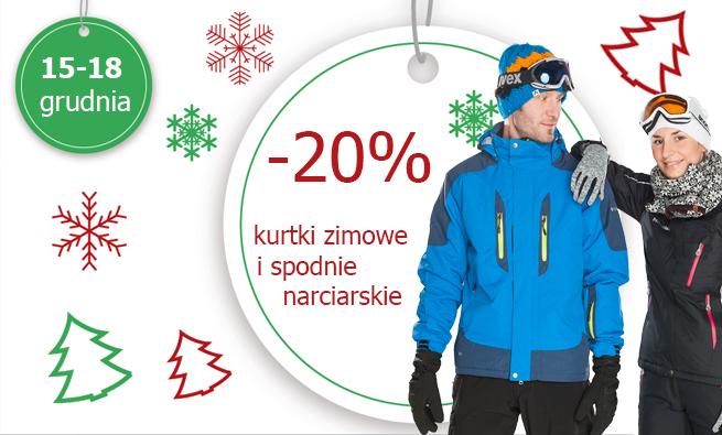 20% rabatu na kurtki i spodnie narciarskie @ HiMountain