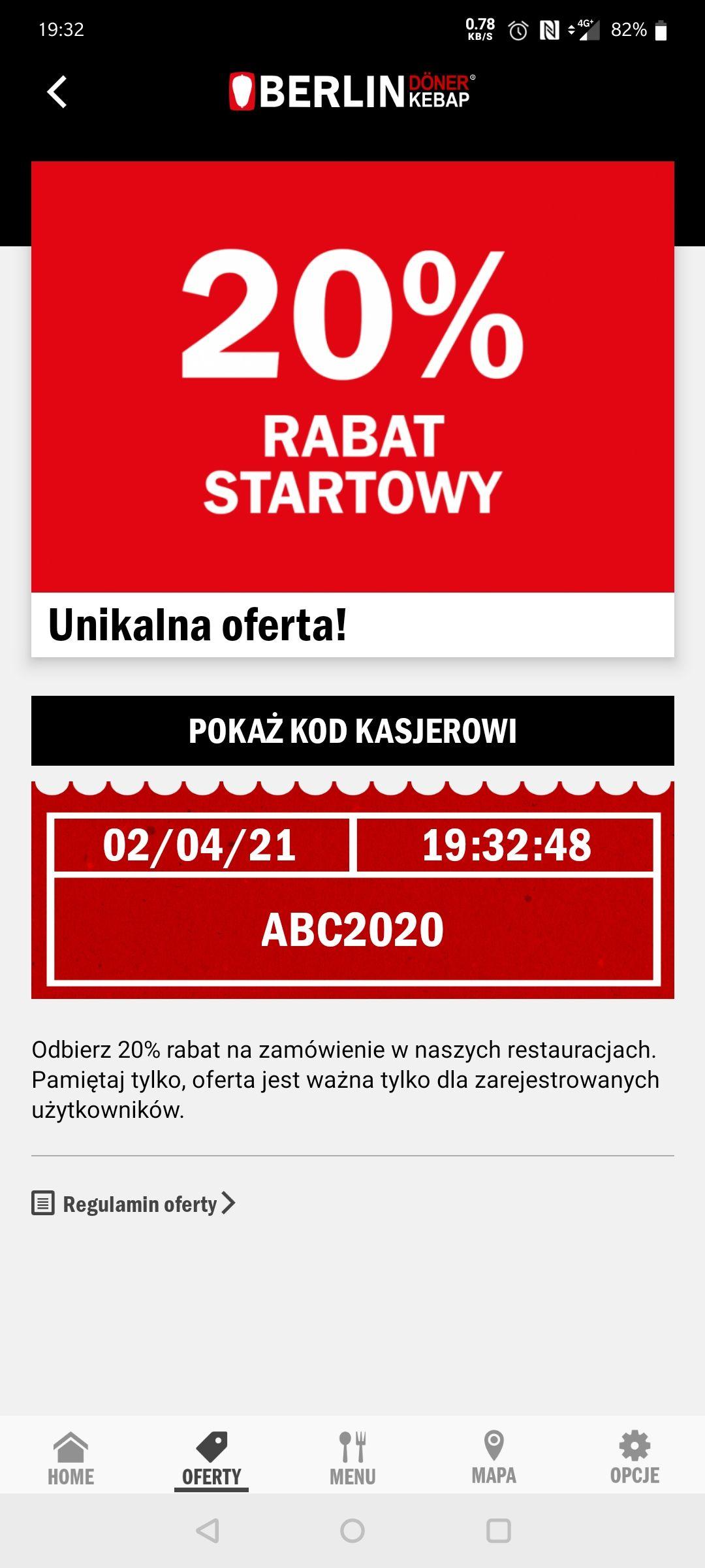 -20% w Berlin doner kebab