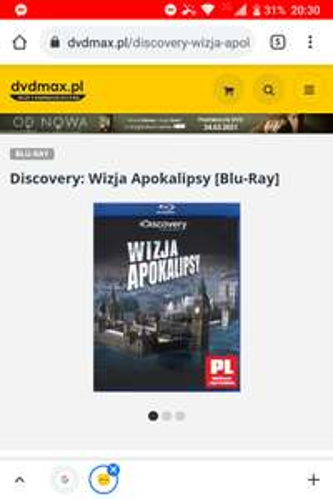 Filmy na Blu Ray od 5 zł