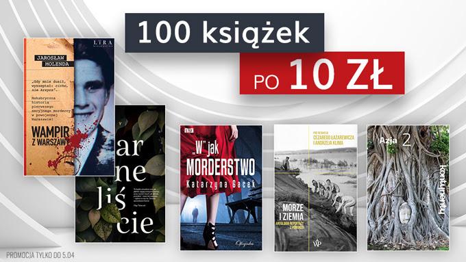 100 książek po 10 zł (ebook)
