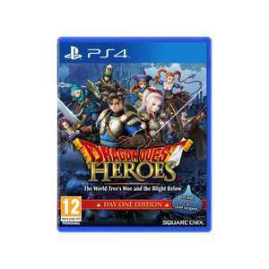 DRAGON QUEST HEROES THE TREES WOE AND THE BLIGHT BELOW - PS4 - 79 zł - playergames.pl