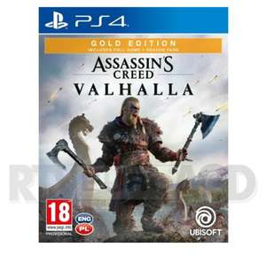 Assassin's Creed Valhalla Gold Edition Ps4/5 i Xbox