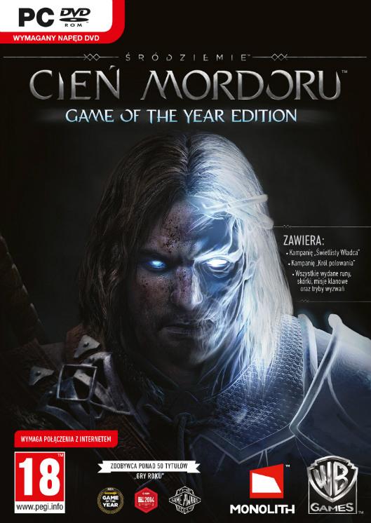 Śródziemie: Cień Mordoru Game of the Year Edition (PC) PL klucz Steam