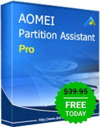AOMEI Partition Assistant Pro 6.1 za darmo lub z dożywotnim upgrade'm za 19.98 USD